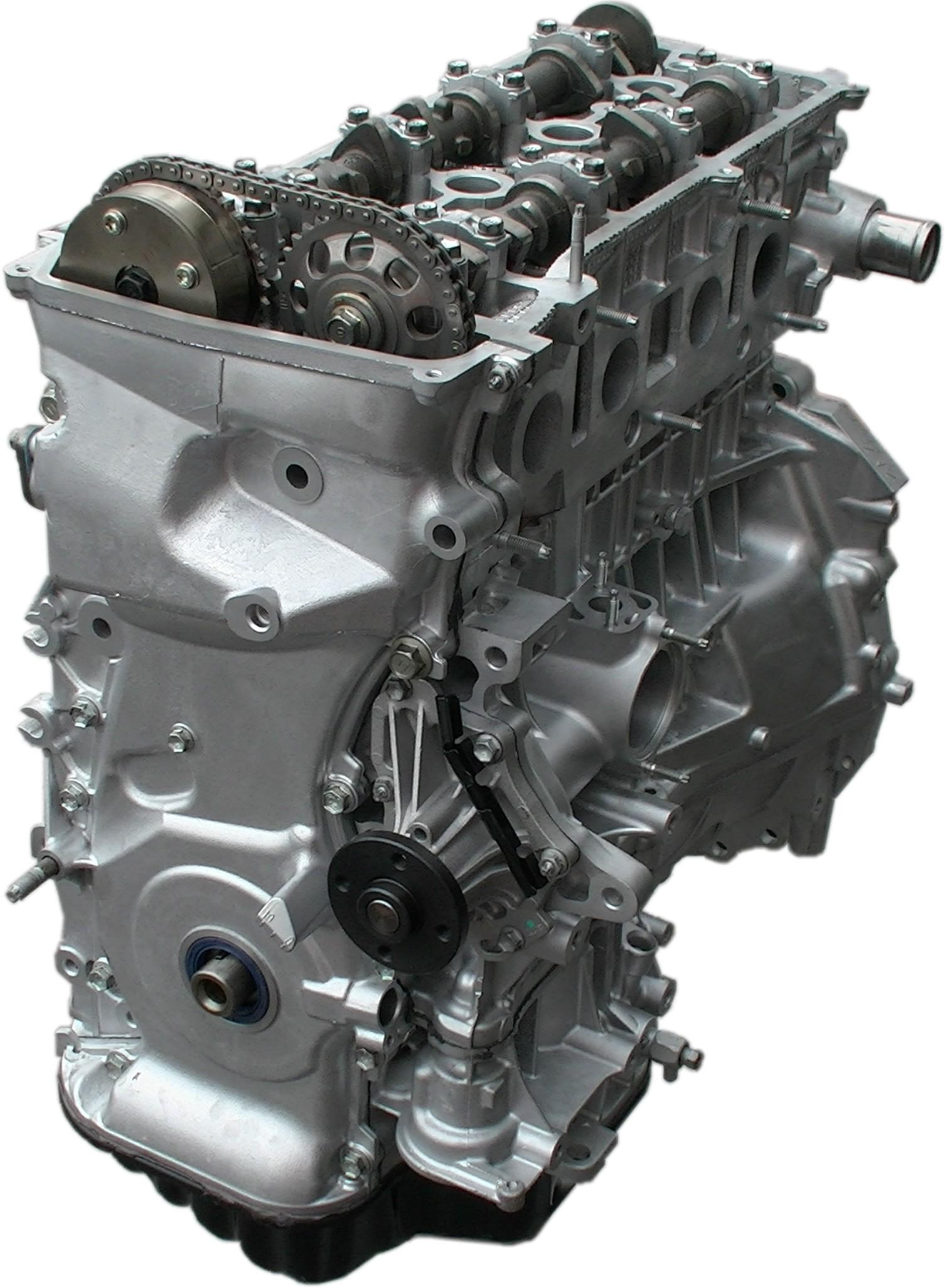 engine toyota 4l scion pontiac tc vibe 4cyl rebuilt 2azfe camry rav4 highlander longblock karking auto king