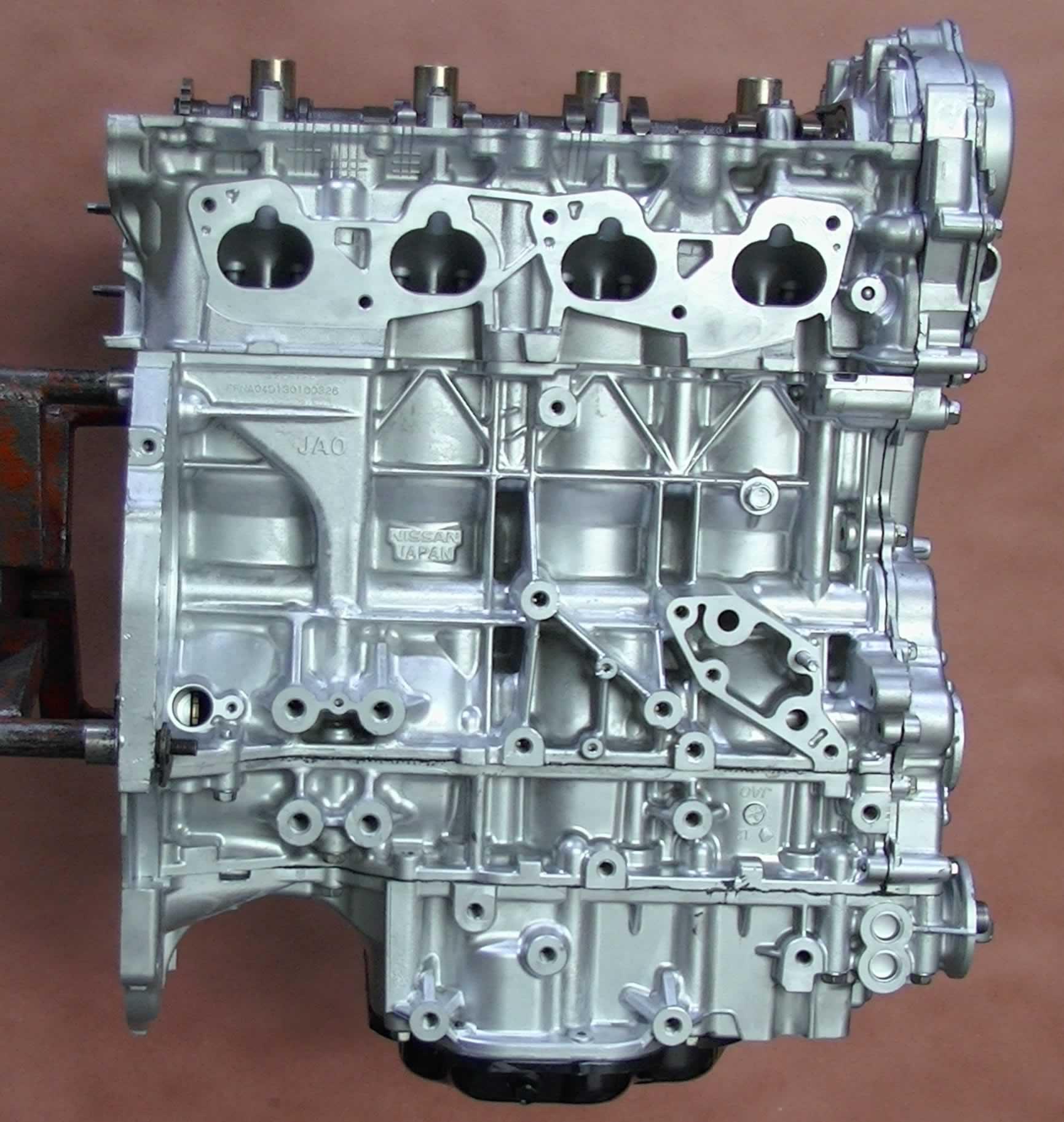 Rebuilt 2007-2012 Nissan Sentra 2.5L QR25DE Longblock ...