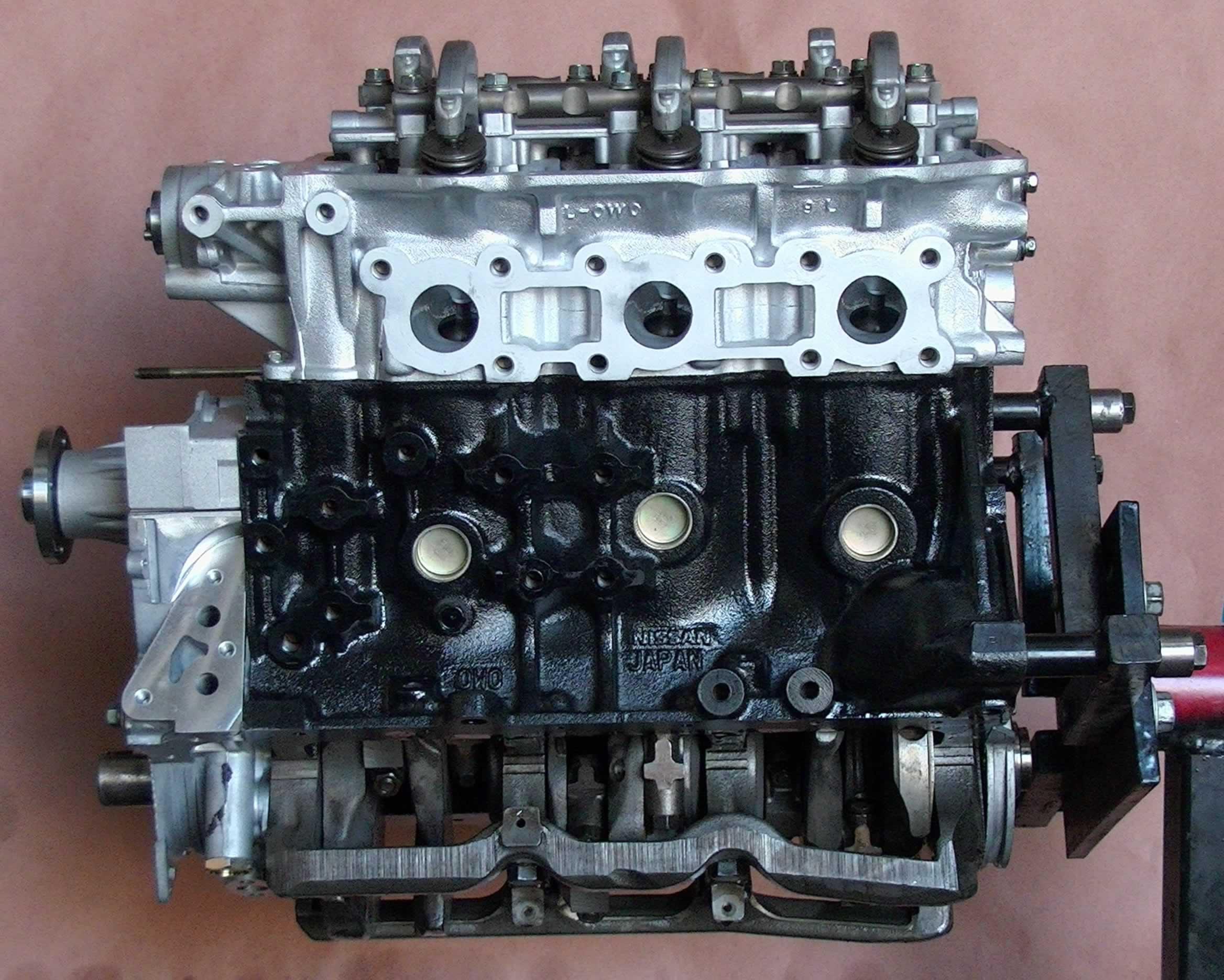 Pic on 2000 Nissan Xterra Engine