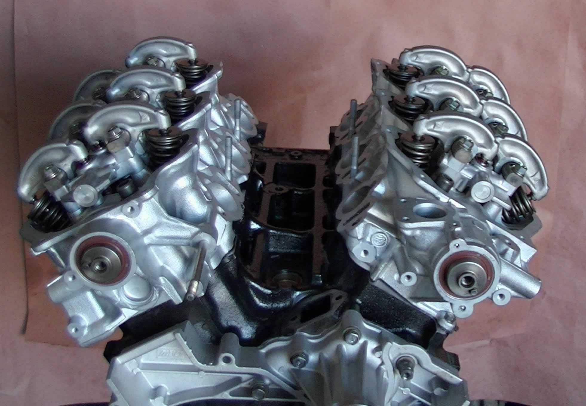 Rebuilt 2000 Nissan Xterra 3 3l Vg33e Longblock Engine