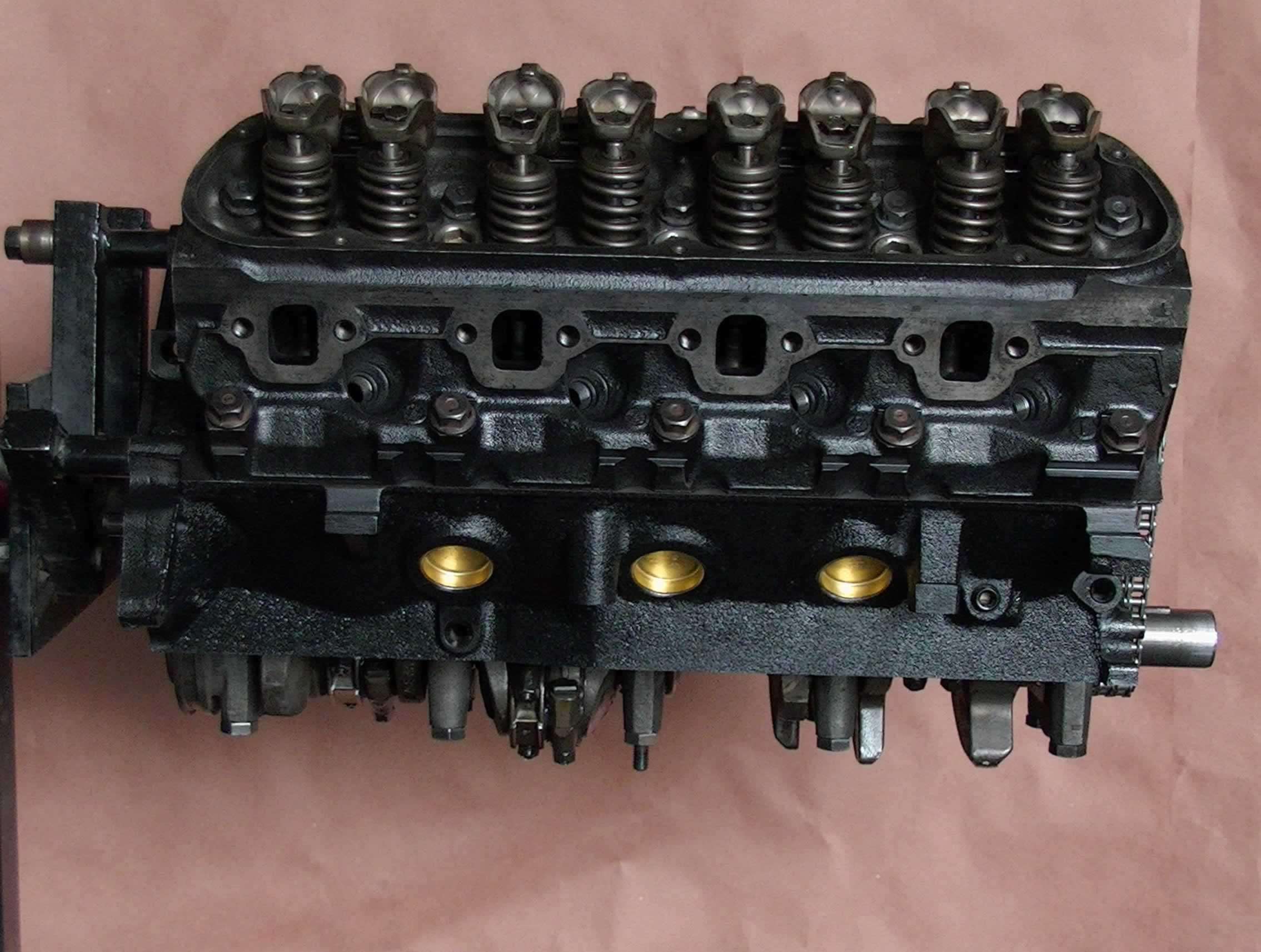 Rebuilt 87 93 ford f150 f250 v8 302 5 0l longblock for Motor ford f150 v8