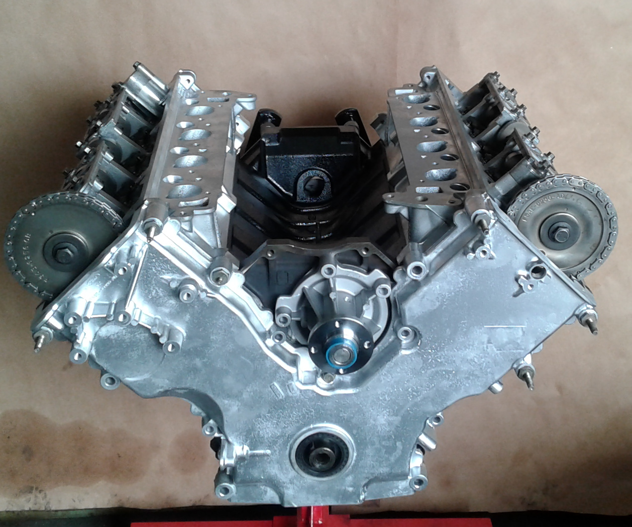Rebuilt 97 Thru 98 Ford Expedition Vin  U201cw U201d 4 6l V8 Sohc Longblock Engine  U00ab Kar King Auto